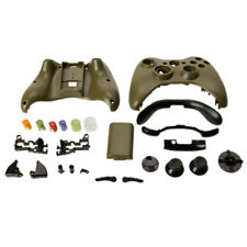 New Cover Shell Case + Buttons Kit for Xbox 360 Wireless Controller Army Green