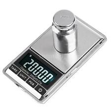 Mini 200g 0.01g Digital Jewelry Scale Weight Electronic Pocket + Carrying Pouch