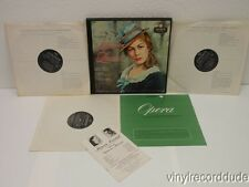 MOLINARI-PRADELLI Puccini Manon Lescaut (Complete) 3-LP Box London A-4316 VG+ UK
