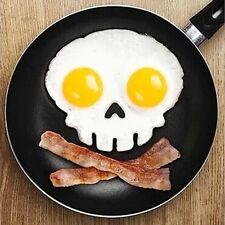 Huevo De Silicona Molde Shaper Kitchen Cooking Cráneo de herramientas