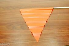 6 FEET ORANGE SAFETY FLAG/PENNET 4 BIKE/TRAILER/ATV NEW