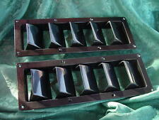 VENT LOUVER BOAT MARINE SEA RAY SILVERTON WELLCRAFT BLACK FREE SHIPPIING ! NEW !