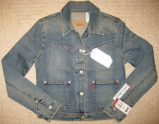 Levi's Ladies Denim Jacket. M. NWT.Red tab.Washed&Worn Collection.Rare.