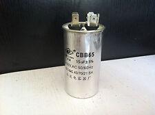 AC Motor Capacitor Air Conditioner Compressor Start Capacitor CBB65 450VAC 15uF