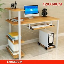 Computer Desk with Bookshelf Home and Office Table Furniture