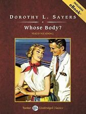 Whose Body? with eBook Lord Peter Wimsey Mysteries Audio
