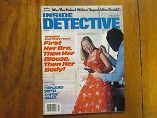 February, 1978 Inside Detective Magazi(DONALD BRANT/GEORGE ADORNO/DENNIS L. SELL