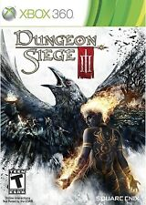 XBOX 360 RPG GAME DUNGEON SIEGE III DUNGEON SIEGE 3 BRAND NEW & SEALED