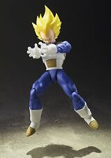 (P) BANDAI S.H.FIGUARTS DRAGON BALL Z SUPER SAIYAN VEGETA ACTION FIGURE
