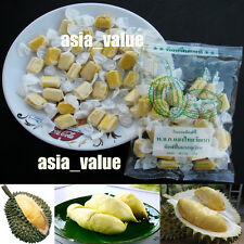 Durian Toffee Thai Fruit Amazing Candy ( Big Bag 110g.) Durian Monthong Thailand
