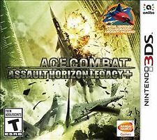 Ace Combat: Assault Horizon Legacy+ (Nintendo 3DS, 2015) - BRAND NEW