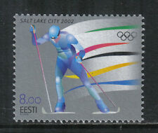 Estonia 2002 Winter Olympic Games--Attractive Sports Topical (432) MNH