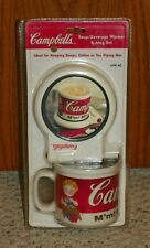 Campbells Soup - Soup / Beverage Warmer & Mug Set - NEW