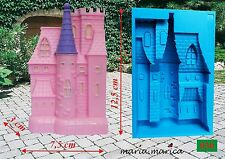 Silikonform silicone mold (030) Schloss 3D mould cake fondant sugarcraft