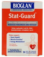 2x Bioglan Stat-Guard Integratore Alimentare 30 caps. gel CoQ10 Zinco Vitamine