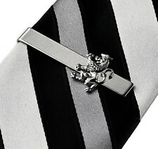 Lion Tie Clip - Tie Bar - Tie Clasp - Business Gift - Handmade - Gift Box