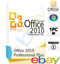 Microsoft Office 2010 Professional Plus für 1 PC