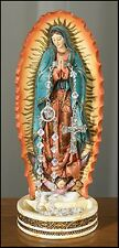 Our Lady of Guadalupe Catholic Rosary Holder Statue