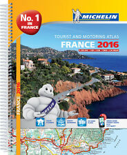 Michelin France Road Atlas A4 Spiral 2016