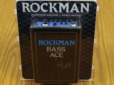 NEW Rockman Tom Scholz Bass Ace Headphone Amplifier & Stereo Headset Effects