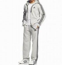 adidas Men's Matched Fleece Sport Suite: Full-Zip Hoodie & Fleece Pants - XL