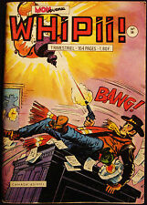 WHIPII - BD - MON JOURNAL - WESTERN STYLE FRENCH COMIC - No 56 - OCTOBRE 1973
