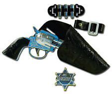 Childs Kids Cowboy Gun Set Wild West Party Fancy Dress