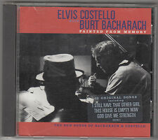 ELVIS COSTELLO with BURT BACHARACH - painted from memory CD
