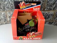 1985 Marchon M-Force Military Muscle Action R.A.M.M Vehicle Nib Like Mego RAMM