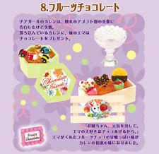 Re-ment dollhouse miniature fruit chocolates 2007