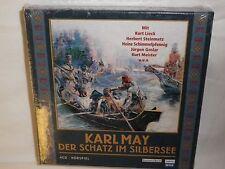 New! KARL MAY Der Schatz Im Silbersee 4CD HORSPIEL BRAND NEW SEALED IMPORT