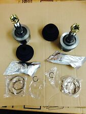 JEEP GRAND CHEROKEE WG WJ FRONT AXLE OUTER CV JOINTS BOOT KIT HUB NUT CLIP X 2