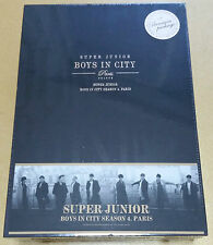 Rare- SUPER JUNIOR Limited Premium PhotoBook [Boys in City Season 4. Paris]