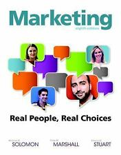 Marketing: Real People, Real Choices 8e by Michael R Solomon (Global Edition)