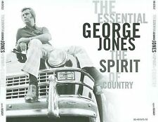 The Essential George Jones: The Spirit of Country by George Jones (CD,...