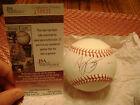 Ryne Stanek Arkansas Razorbacks Signed OMLB Baseball NCAA Sweet Spot JSA I58532
