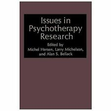 Nato Science Series B: Issues in Psychotherapy Research (2013, Paperback)