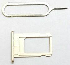 """New """"GOLD"""" Sim Card Tray+Pin Replacement for iPhone 6 4.7"""" ~ US Seller !!"""