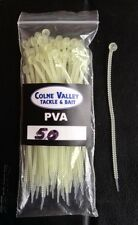 Pva Fishing Bags Cable Ties 50 4inch Stron  Soluble Colne Valley Tackle