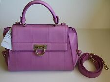 NWT Salvatore Ferragamo Top Handle Satchel Medium Python Sofia Bag 2016 $4400
