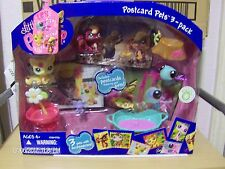Littlest Pet Shop Postcard Pets ~ 3 Pack ~ #1231 1232 1233 New in Packaging