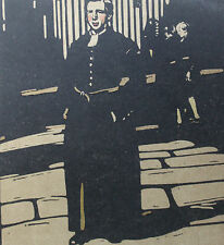 William Nicholson 1898 Types de Londres London Les écoliers au vêtements bleus