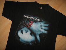 Drowning Pool Tee - 2001 Sinner Album Concert Tour Heavy Metal Blk T Shirt Large