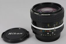 【AS-IS】 Nikon Ai Nikkor 28mm f/2.8 Wide Angle Lens from Japan