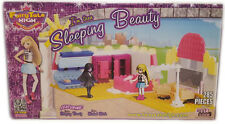 FairyTale High Girl's Sleeping Beauty Building Block Toy Set Best Lock 285 pcs
