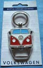 NEW Officially Licensed Red VW Campervan Bottle Opener & Keyring 8x4cm NO P&P