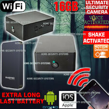 Anti Theft Camera WIFI Device Home Security System Motion Voice Activated no SPY