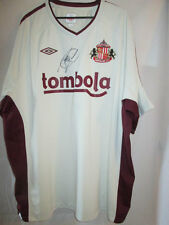Paolo Di Canio Signed Sunderland Away Football Shirt with COA /20651 italy lazio