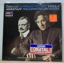 Ashkenazy SIBELIUS Symphony No.7, Tapiola - London LDR 71080 SEALED