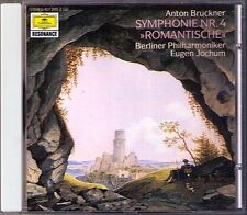 Eugen Jochum Bruckner symphony No. 4 romantic CD de Berlin philharmonique symphonie